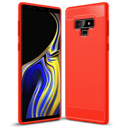 Flexi Carbon Fibre Tough Case for Samsung Galaxy Note 9 - Red